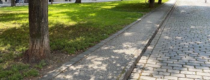 Park U Lužického semináře is one of Praga.
