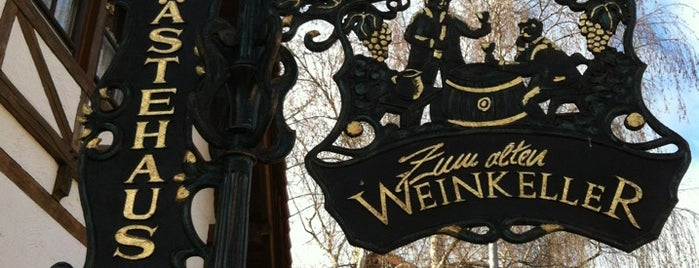 Zum Alten Weinkeller is one of German Restaurant.