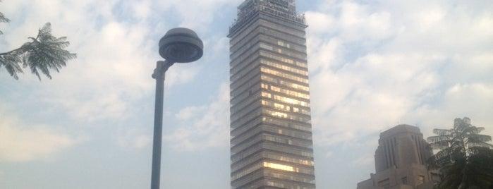 Torre Latinoamericana is one of Rascacielos en la Ciudad de México..