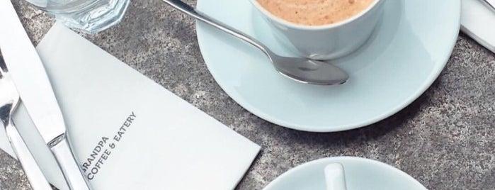Grandpa Coffee & Eatery is one of Ü.