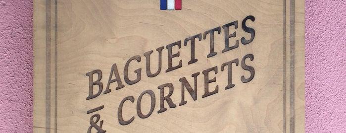 Baguettes & Cornets is one of Marie: сохраненные места.