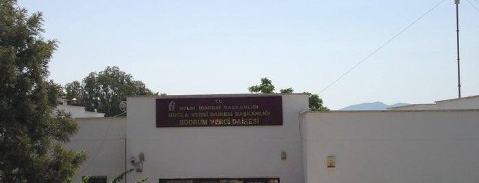 Bodrum Vergi Dairesi Başkanlığı is one of สถานที่ที่ Umut ถูกใจ.