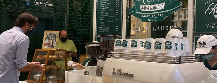 Ralph's Coffee is one of NYC.