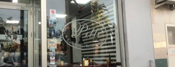 cafeteria restaurante Pitti is one of Locais curtidos por Lujain.