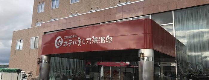 ホテル美し乃湯温泉 is one of Tempat yang Disukai 高井.
