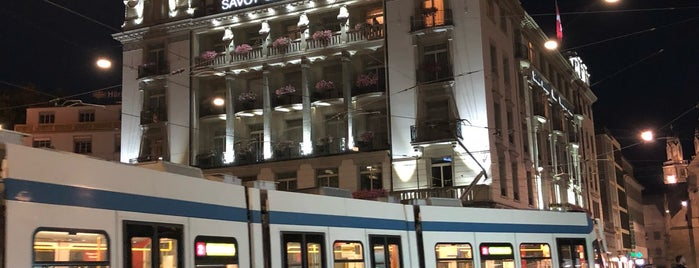Savoy Restaurant is one of Zurich: business trip 2014-2015.