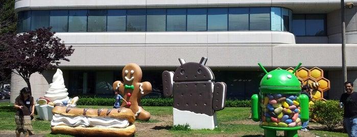 Googleplex - 44 is one of Bay Area.