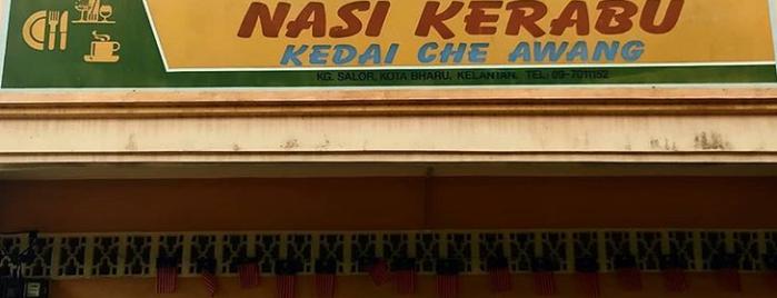 Che Awang Nasi Kerabu is one of @Kota Bharu,Kelantan #4.