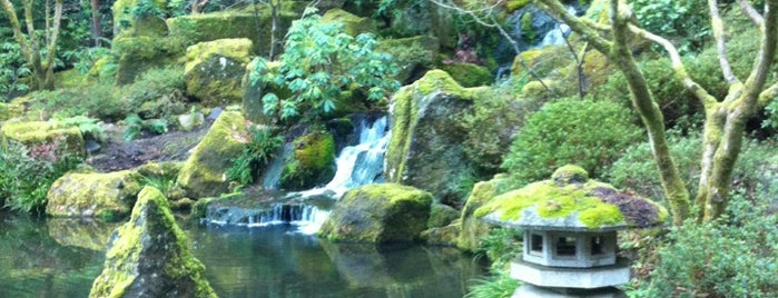 Portland Japanese Garden is one of Keep Portland Weird.