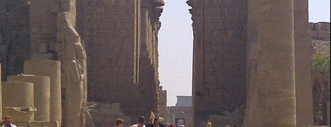 The Karnak Temple Complex is one of 36 Hours In...Luxor.