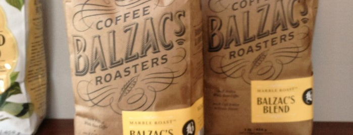 Balzac's Coffee is one of Posti che sono piaciuti a Alled.