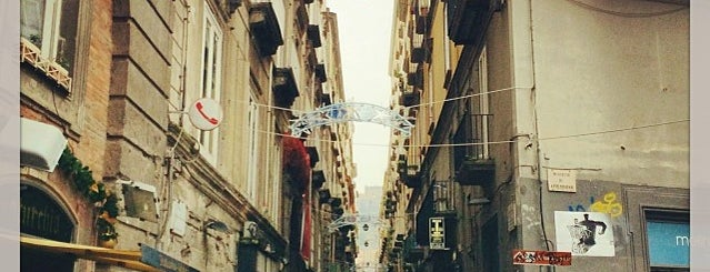Spaccanapoli is one of Historic Naples.