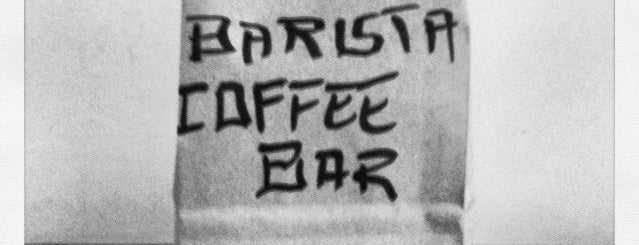 Barista Coffee Bar is one of Locais salvos de Francis.