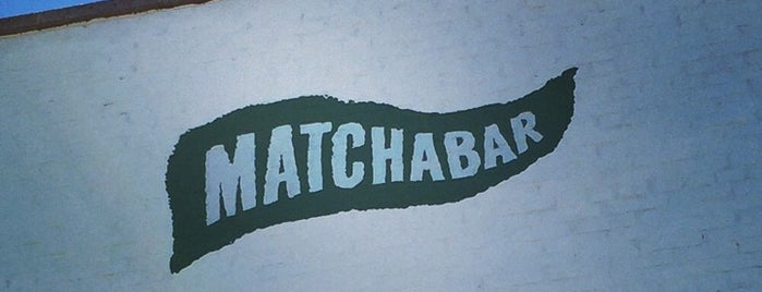 MatchaBar is one of New York.