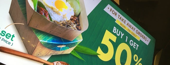 Crave is one of SG Nasi Lemak Trail....