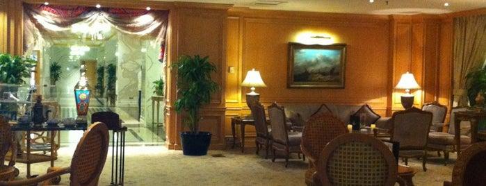 Movenpick Hotel Madina is one of Gespeicherte Orte von Turki.