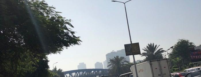 Embaba Bridge is one of Cairo القاهره.