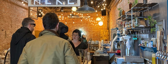 Trade and Lore Coffee is one of Asheville.