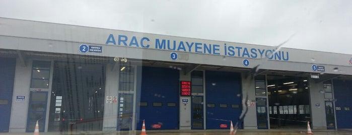 TÜVTÜRK Araç Muayene İstasyonu is one of Tempat yang Disukai Memocan.
