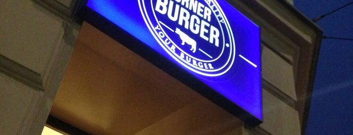 Corner Burger is one of Best KRK Restaurants.