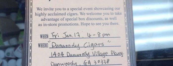 Dunwoody Cigar is one of Atlanta At Its Best.
