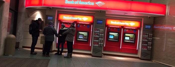 Bank of America is one of Where to Cry in NYC.