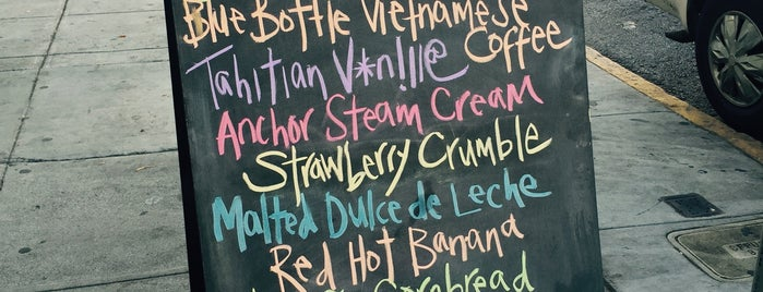 Humphry Slocombe is one of Dessert.