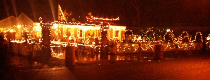 The House With All The Christmas Lights is one of places to check out.