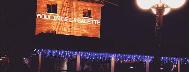 Le Moulin de la Galette is one of Fleur's Paris.