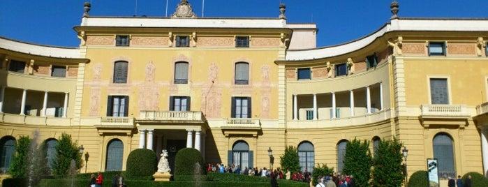Palacio Real de Pedralbes is one of lugares donde me siento bien LA BARCELONA OCULTA.