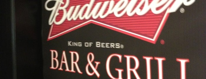 Budweiser Bar & Grill is one of Atlanta eats.