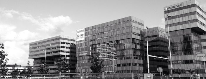 Stryker European HQ is one of amsterdam.
