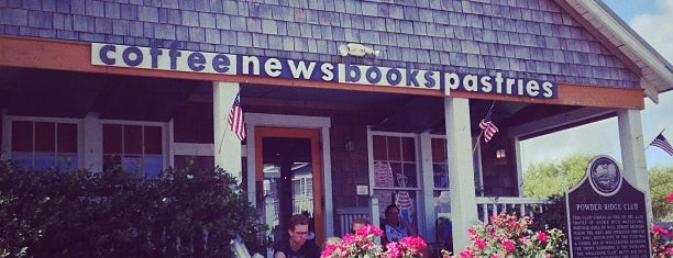 Duck's Cottage Coffee & Bookshop is one of OBX.