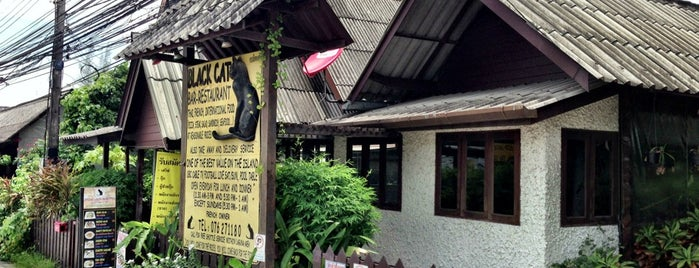 Black Cat Bar & Restaurant is one of Phuket nice & affordable.