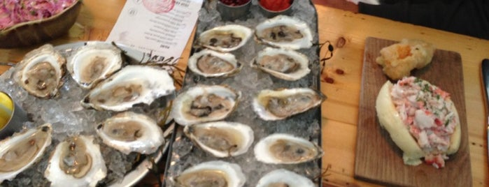 Eventide Oyster Co. is one of Portland.