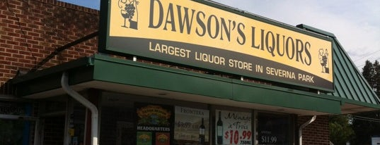 Dawson's Liquors is one of Notable.