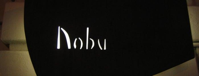 Nobu is one of NYC: Favorite restaurants & brunch spots!.