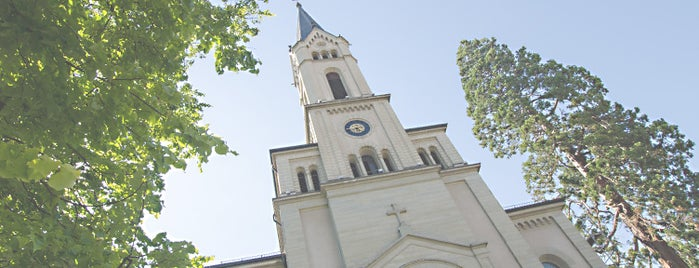 Lutherkirche is one of GLOCKEN.tv - Online-Archiv mit Kirchenglocken.