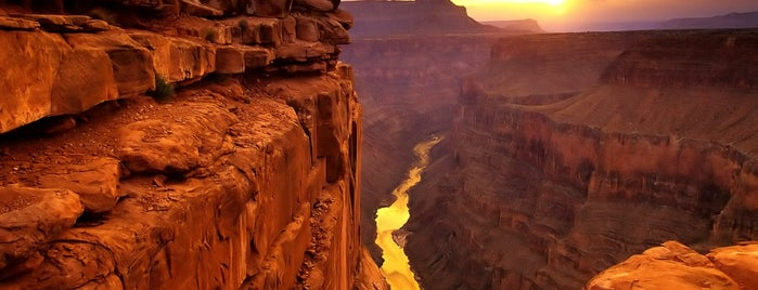 Grand Canyon West is one of Lieux sauvegardés par Queen.