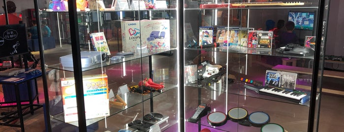 The National Videogame Museum is one of Sheffield.