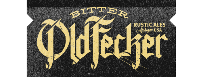 Bitter Old Fecker Rustic Ales is one of Michigan Breweries.
