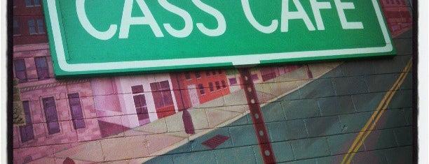 Cass Café is one of Motown.