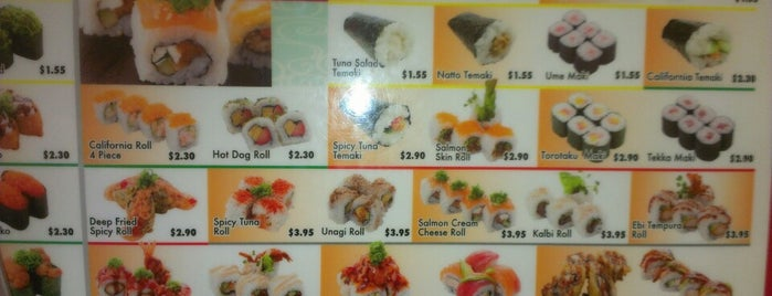 Genki Sushi is one of Orte, die Evan[Bu] gefallen.