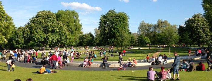 Hyde Park is one of Where to go in London.
