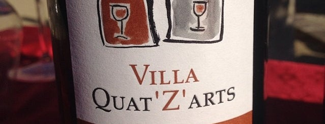 Villa Quat Z Arts is one of Vin.