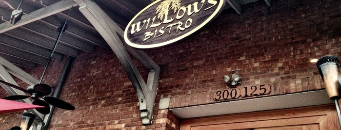 Willow's Bistro is one of Great Spots.