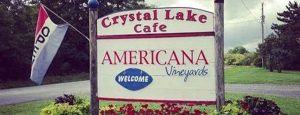 Americana Vineyards & Winery is one of Finger Lakes Wine Trail & Some.