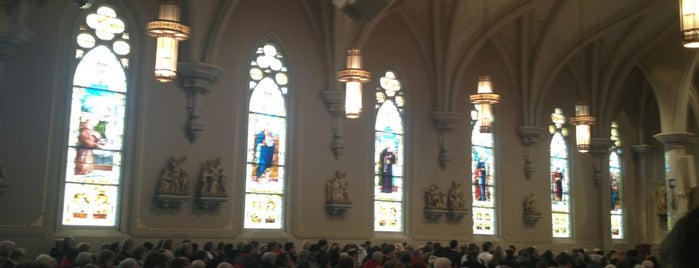 St. Willebrords Roman Catholic Church is one of Packers Heritage Trail (City Walk).