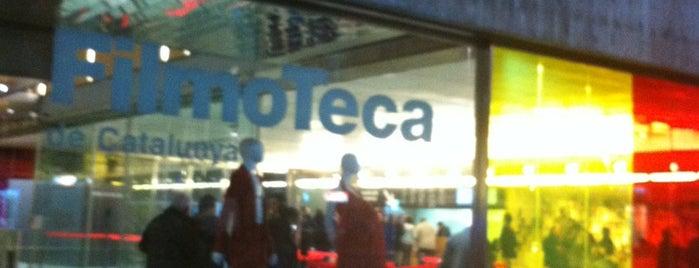 Filmoteca de Catalunya is one of MOB - Weekends for fun.