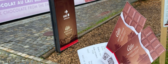 Nestlé is one of Interlaken.